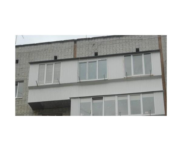 Балкони з дахом наші роботи