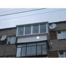 Балкон з дахом 003