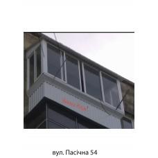 Балкон з дахом 005