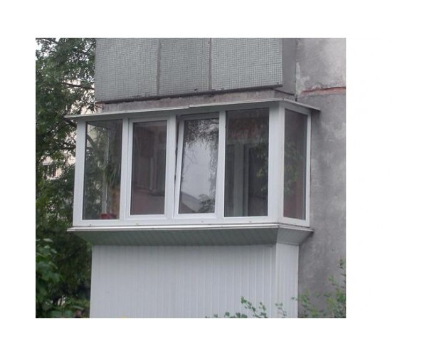 Виносний балкон 001