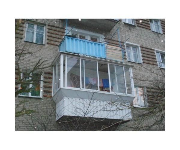 Виносний балкон 006