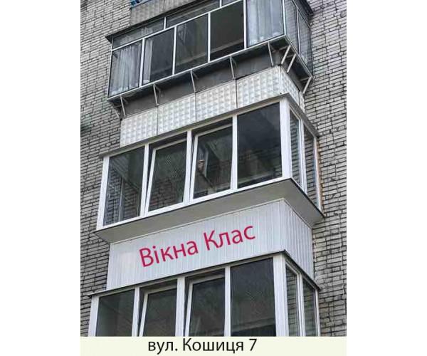 Виносний балкон 026