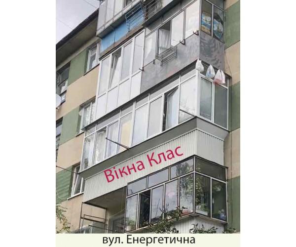 Виносний балкон 028