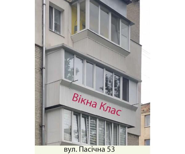 Виносний балкон 029