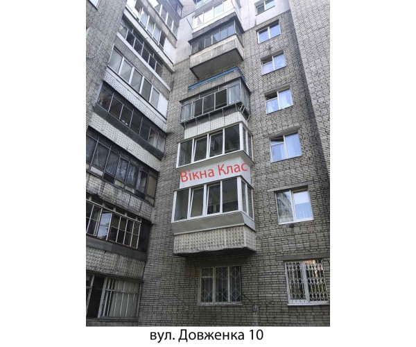 Виносний балкон 012