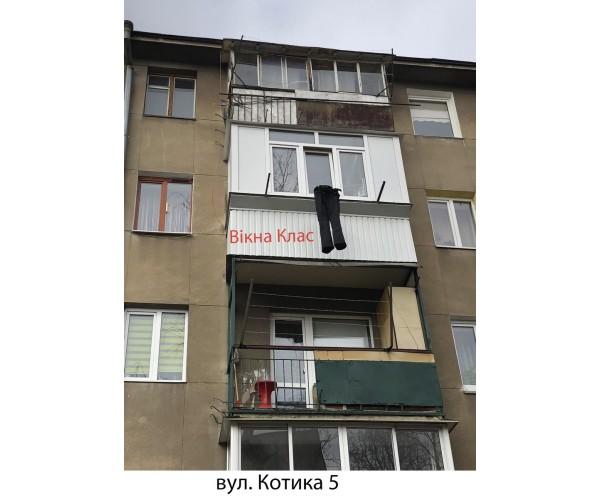 Виносний балкон 014