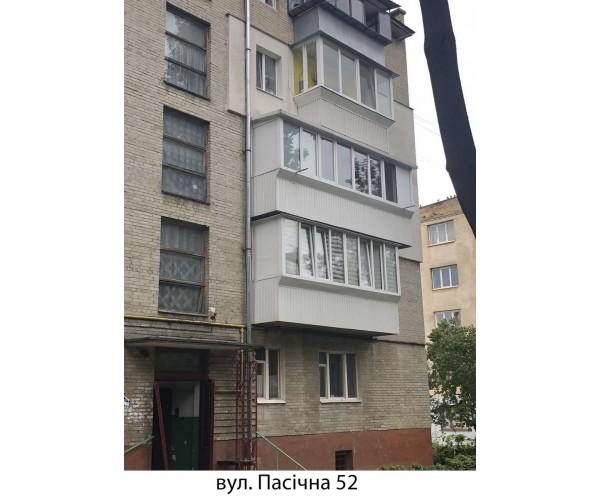 Виносний балкон 022