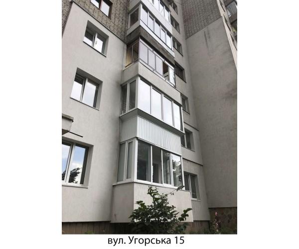 Виносний балкон 023