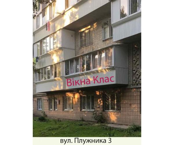 Балкон заливкою плити 018