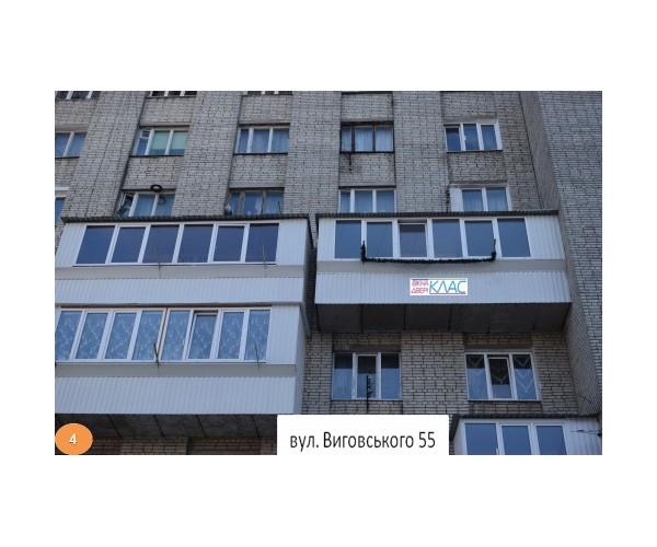 Балкон заливкою плити 004