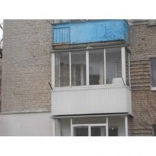 Балкон засклений 003