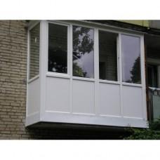 Балкон засклений 006