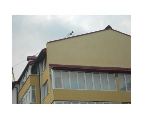 Балкон засклений 007