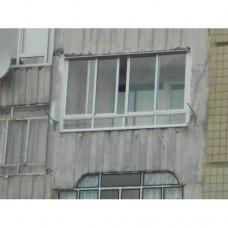 Балкон засклений 008