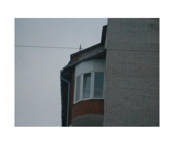 Балкон засклений 009