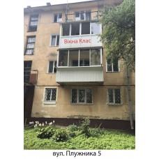 Балкон засклений 013