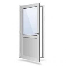 Двері одинарні металопластикові 800 х 2000