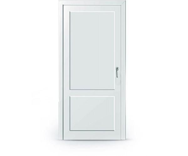 Двері одинарні металопластикові глухі 950 х 2050