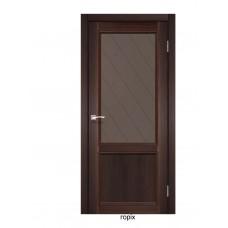 Двері Італійські КЛ-02 (скло бронза)
