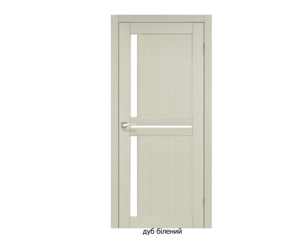 Двері міжкімнатні Італійські СЦ-02 біле скло