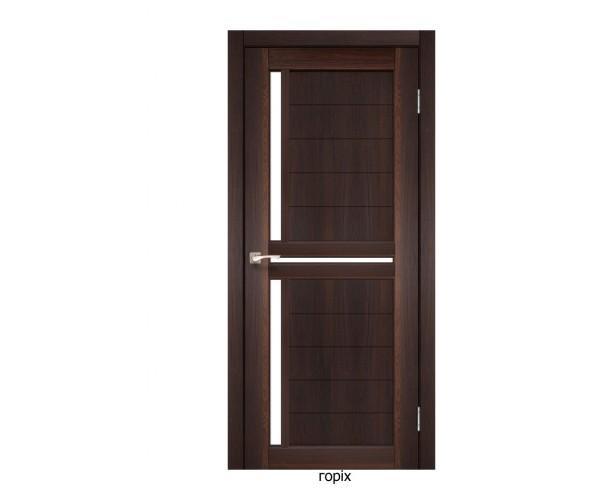 Двері міжкімнатні Італійські СЦ-04 біле скло