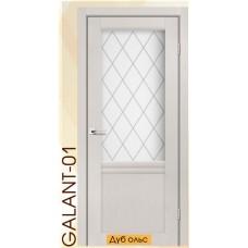 Двері міжкімнатні модель Galant-01 Японський шпон