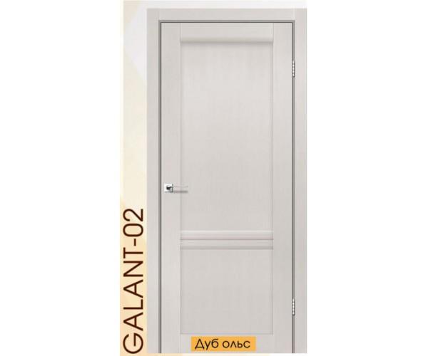 Двері міжкімнатні модель Galant-02 Японський шпон