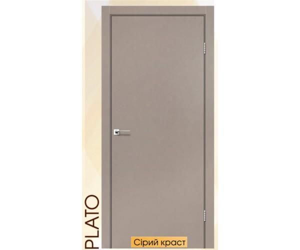 Двері міжкімнатні модель Plato Японський шпон