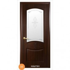 Двері міжкімнатні Ніка №10 (скло)
