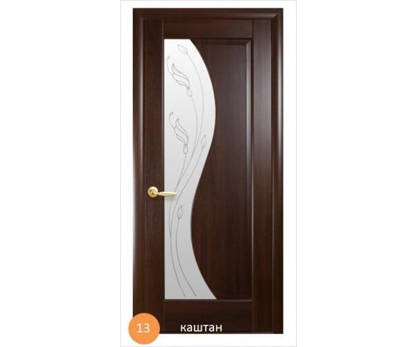 Двері міжкімнатні Ніка №13 (скло)