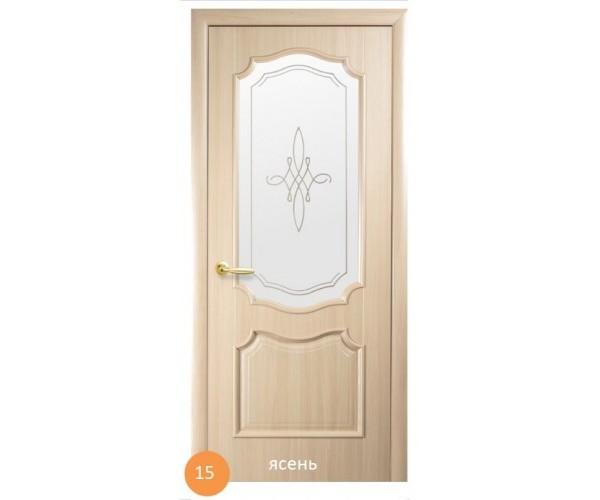 Двері міжкімнатні Ніка №15 (скло)