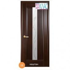 Двері міжкімнатні Ніка №18 (скло)