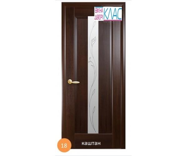 Двері Ніка №18 (скло)