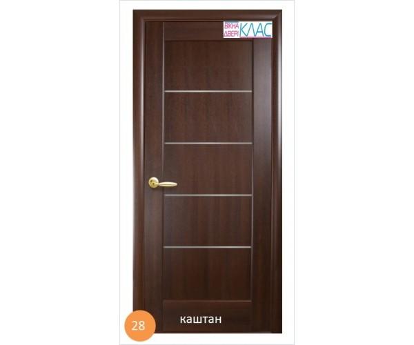 Двері міжкімнатні Ніка №28 (скло)