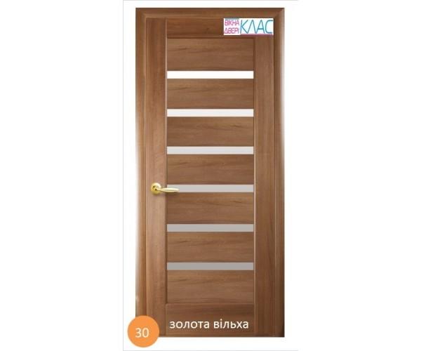Двері міжкімнатні Ніка №30 (скло)