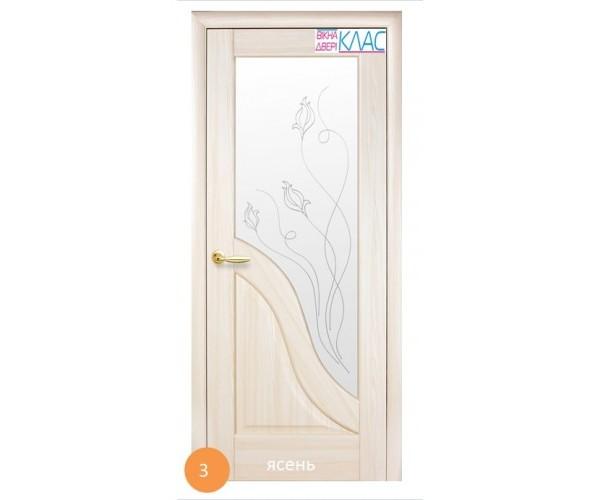 Двері міжкімнатні Ніка №3 (скло)