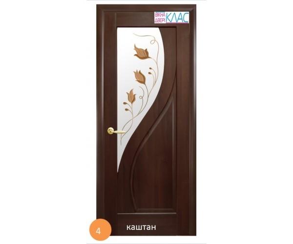 Двері міжкімнатні Ніка №4 (скло)