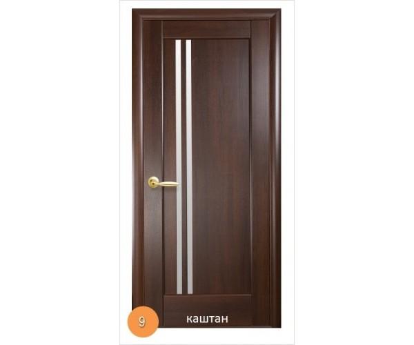 Двері міжкімнатні Ніка №9 (скло)