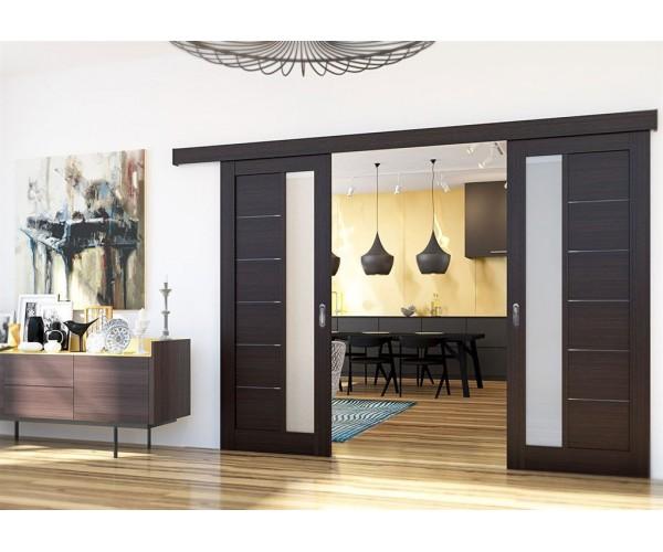 Розсувні міжкімнатні двері модель 1