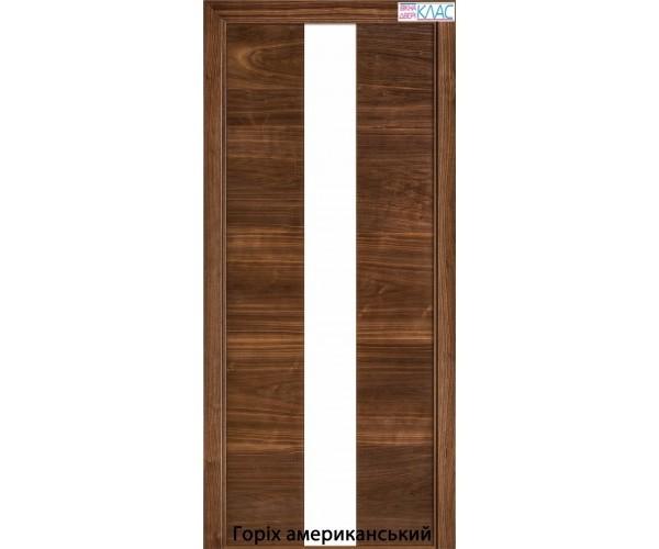 Двері міжкімнатні шпоновані №23 планілак білий
