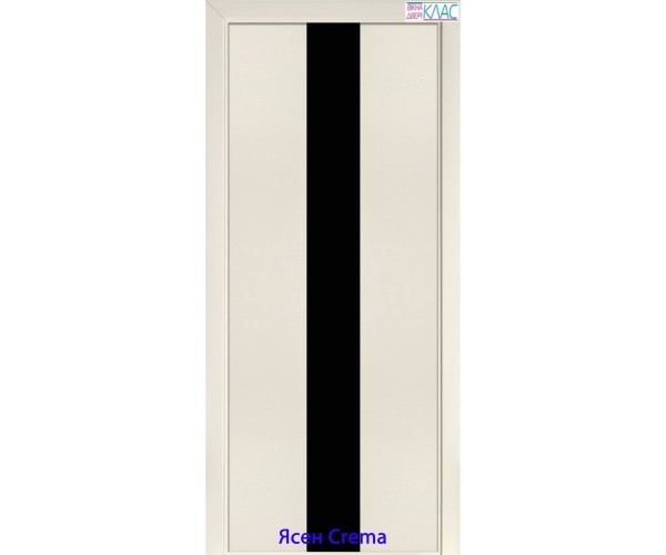 Двері №23 планілак чорний