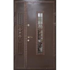 Двері вхідні металеві в під'їзд M9 1200 х 2100