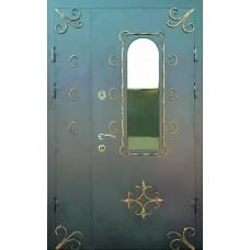 Двері вхідні металеві в під'їзд M1 1200 х 2100