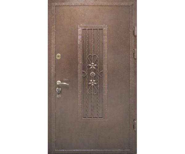 Двері вхідні металеві в під'їзд M12 970 х 2050