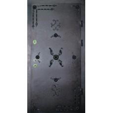 Двері вхідні металеві в під'їзд M2 970 х 2050