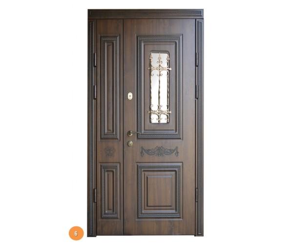 """Двері вуличні """"Еліт"""" модель 006"""