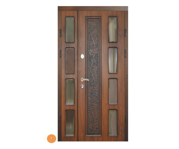 """Двері вуличні """"Еліт"""" модель 007"""