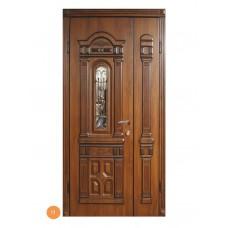 """Двері вхідні вуличні """"Еліт"""" модель 011"""