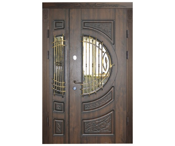"""Двері вхідні вуличні """"Еліт"""" модель 012"""