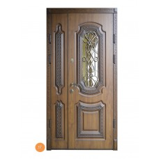 """Двері вхідні вуличні """"Еліт"""" модель 017"""
